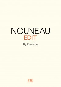 Nouveau Edit cover